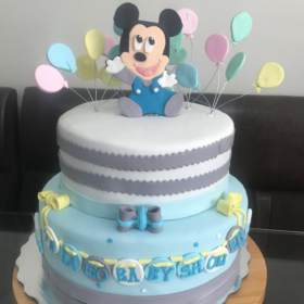 Compra tu Pastel Baby Shower Mickey en Creapasteles.com